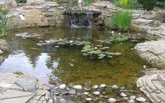 Что нужно для реализации проекта водоема с водопадом самостоятельно