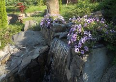Мастер-класс по устройству водоема с каскадным водопадом
