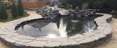 Устройство водопада с новым способом очистки воды